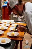 Estancia Culinaria x Heirloom Hospitality Group Farm to Farm Dinner - Torching Yucca