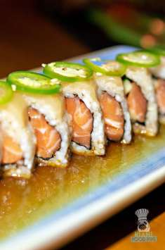 The Rusty Pelican - Salmon Roll