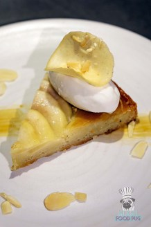 LT Steak and Seafood - Miami Spice - Pear Frangipane Tart