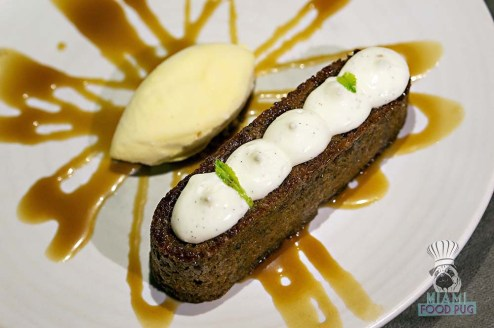 LT Steak and Seafood - Miami Spice - Warm Carrot Cake