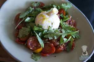 Burlock Coast - Brunch - Compressed Heirloom Tomatoes and Burrata