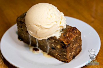 Captain Jim's Seafood Market and Restaurant - Bread Pudding