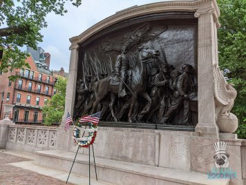 Freedom Trail - Robert Gould Shaw and the 54th Regiment Memorial