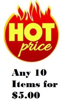 Hot Sale 10 for $5 Blog