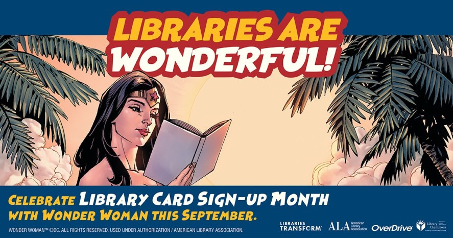 library card flyer