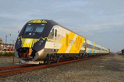 Miami Glasnik Brightline Train