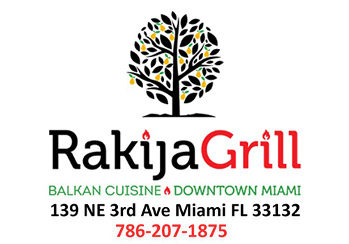 Rakija Grill Miami Glasnik Logo