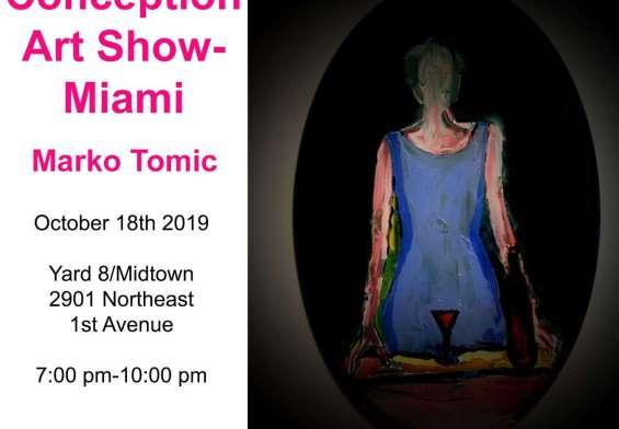 Marko Tomic Art Show Miami Glasnik