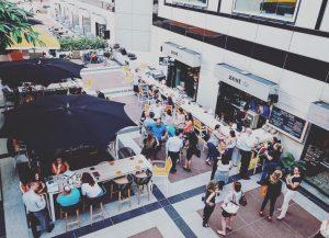 Downtown Miami happy hour network