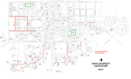 Faculty and staff parking restrictions during Move-In Day