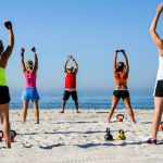 Fitness classes and events calendar