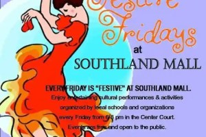 'Festive Friday' free entertainment at Southland Mall