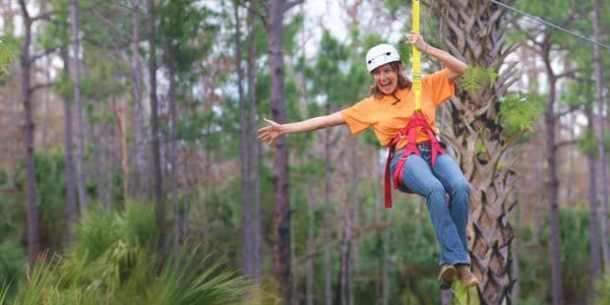 Forever Florida Safari Zipline