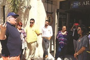 Coral Gables weekly walking tour