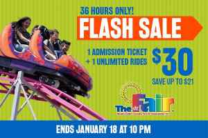 Flash sale for Miami-Dade Youth Fair