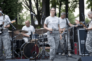 Free Air National Guard band concert