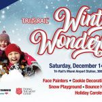 Tri-Rail's winter wonderland