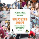 Free Recess event at Lincoln's Beard Brewing Co.
