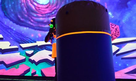 LazerBall Soft for Two, Four, Six, or Eight at Revo Entertainment Center (Up to 64% Off)