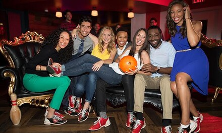 Two Hours of Bowling and Shoe Rentals for Two, Four, or Six Guests at Bowlero (Up to 56% Off)