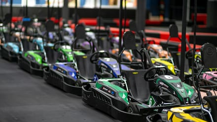 Karting and Arcade Game Card Package at Dezerland Park Miami (Up to 45% Off). Four Options Available.