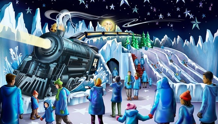 ICE! at Gaylord Palms featuring THE POLAR EXPRESS™ on November 25, 2019 - January 5, 2020