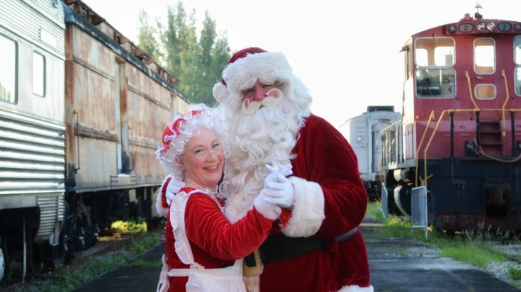 Gold Coast Railroad Museum's 'A Holly Jolly Holiday Event'