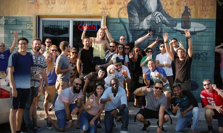 Admission for One or Two to Wynwood Bar Crawl (Up to 55% Off)