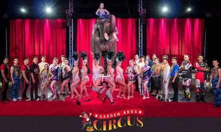 Garden Bros. Circus (November 7–10)