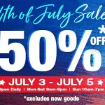 Goodwill sale: 50% off items this weekend