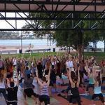 Bayfront Park's free yoga classes available via Zoom