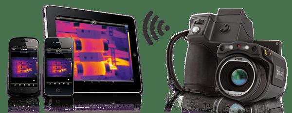 Câmera de imagem térmica da série T da FLIR T620