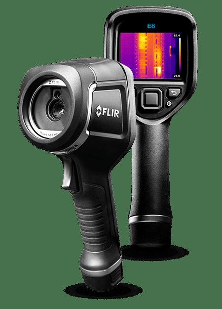 FLIR E8 com MSX®