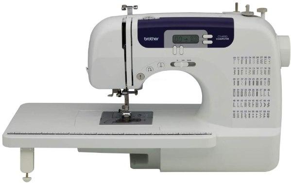 Máquina De Costura Brother Cs 6000i Eletrônica 60 Pontos Cs600i