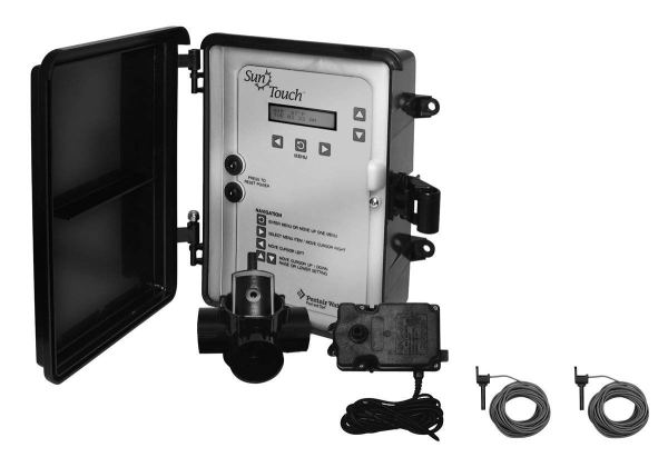 Pentair 520859 SunTouch Pool and Spa Single Body Control System, Black