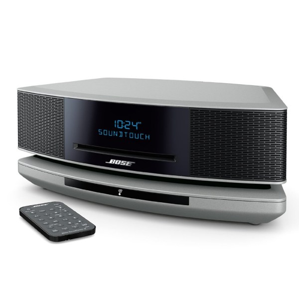 Bose Wave Soundtouch Music System Iv- Espresso Prata