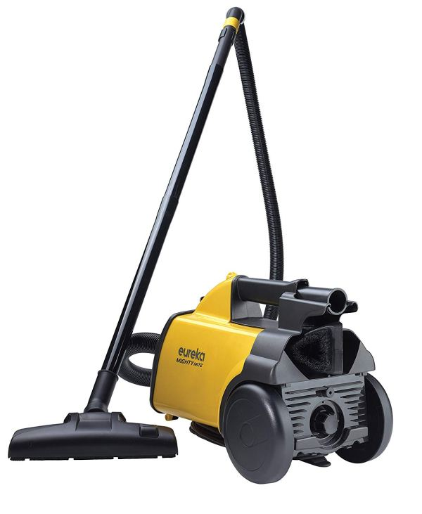 Eureka Mighty Mite Corded Canister Vacuum Cleaner, 3670G2