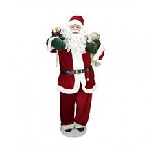 Papai Noel Gigante 1.48m toca Musica e Dança