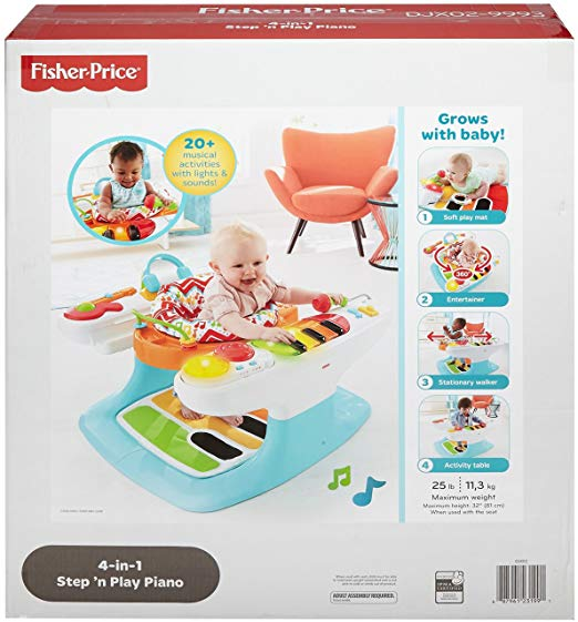 Fisher-Price 4-in-1 Step 'n Play Piano 4