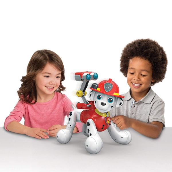 zoomer Paw Patrol, Marshall, Interactive Pup with Missions, Sounds and Phrases, by Spin Master3