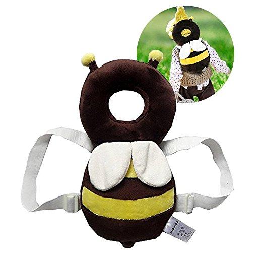 Almofada de segurança infantil ajustável para bebês Protetor de cabeça e ombro KuYou 9