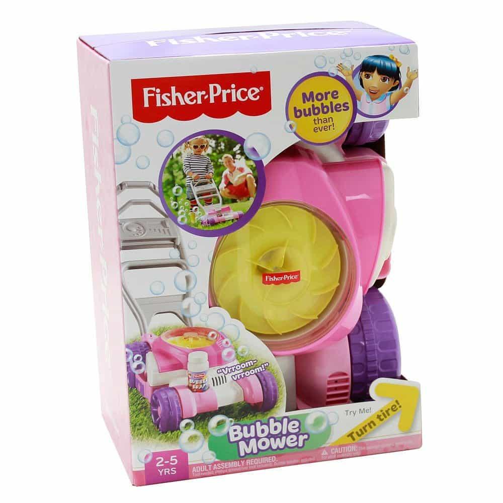 Andador Bolhas De Sabão Fisher Price Rosa 2