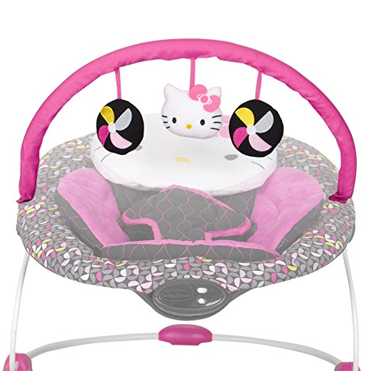 Baby Trend Hello Kitty Bouncer, Pinwheel 2