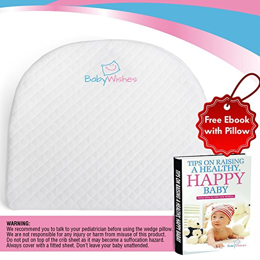 Baby Wishes Universal Bassinet Wedge for Better Baby Sleep Premium Breathable Cover, Waterproof Inner Cover, BPA Free7