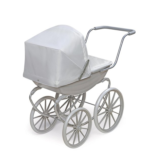 Badger Basket London Doll Pram ,fits American Girl dolls, Gray2