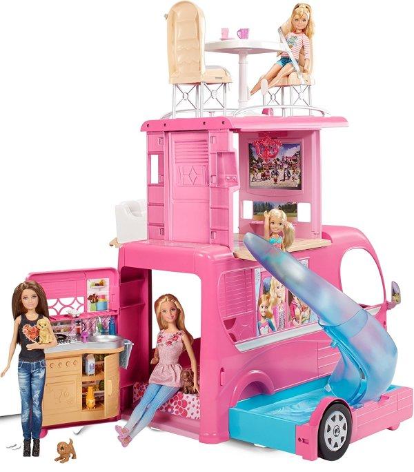 Barbie Veículo de Acampamento Pop-Up Camper Vehicle3