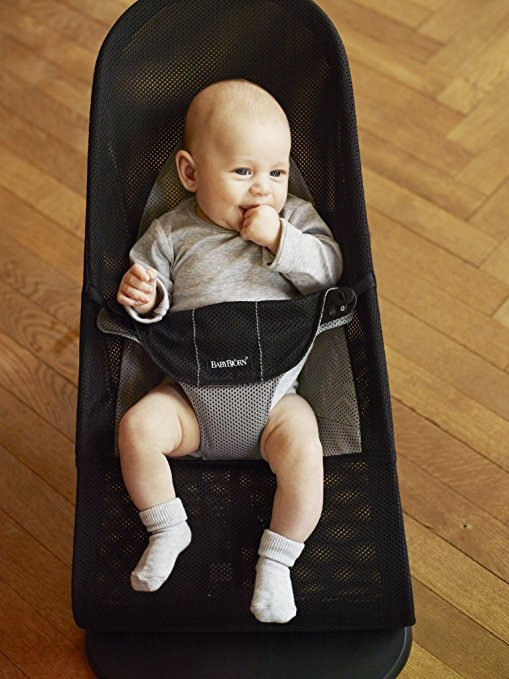 Cadeira Babybjorn Bouncer Balance Soft Black