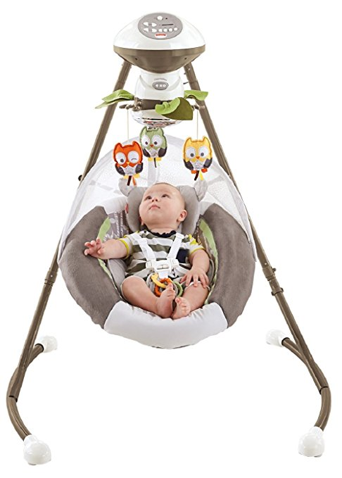 Cadeira Balanço Fisher Price My Little Snugabear Cradle Swing2