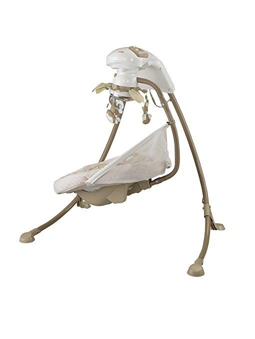 Cadeira Balanço Fisher Price SnugaMonkey Cradle Swing6