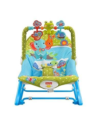 Cadeira Balanço Minha Infância Fisher Price Green with Blue BGB00